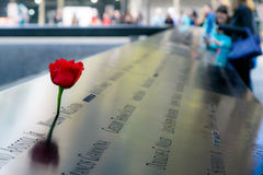 9-11 Denkmal Lizenzfreies Stockfoto