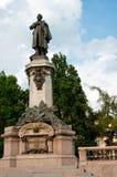 Denkmal Adam-Mickiewicz Lizenzfreies Stockbild