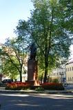 Denkmal Adam-Mickiewicz Stockfoto