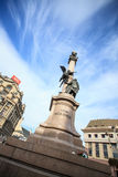 Denkmal Adam-Mickiewicz in Lviv, Ukraine Stockfoto