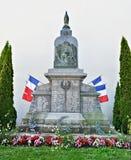 Denkmal in Anglure 1914-1918 Stockfotografie