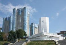 Denkmal-Barke im Samara Lizenzfreies Stockbild
