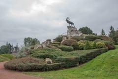 Denkmal Beaumont-Hamel Neufundland Stockbild