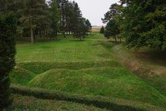 Denkmal Beaumont-Hamel Neufundland Stockfoto