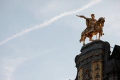 Denkmal in Brüssel, Belgien Lizenzfreies Stockbild