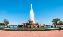 Denkmal-Brunnen Chicagos Buckingham Lizenzfreie Stockbilder