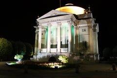 Denkmal in Como Lizenzfreie Stockfotografie