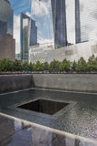 Denkmal 911 in der Welthandelsmitte in New York Stockfotografie