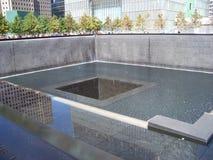 Denkmal des Bodennullpunkts 911 lizenzfreies stockbild