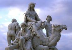Denkmal des Prinz-Albert Lizenzfreies Stockfoto
