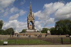 Denkmal des Prinz-Albert, London Lizenzfreie Stockfotos