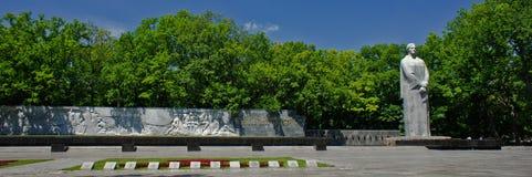 Denkmal des Ruhmes Stockbild