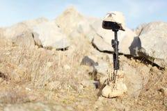Denkmal des Soldaten lizenzfreies stockbild