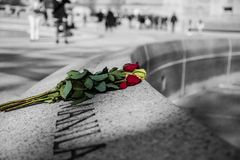 Denkmal des Zweiten Weltkrieges Lizenzfreie Stockfotos