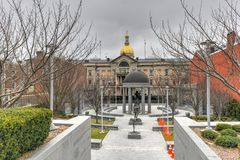 Denkmal des Zweiten Weltkrieges - Trenton, New-Jersey stockfotografie