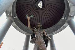 Denkmal des Zweiten Weltkrieges - Trenton, New-Jersey stockfotos