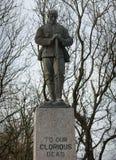 Denkmal des Zweiten Weltkrieges zu unseren prachtvollen Toten Lizenzfreies Stockfoto