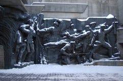Denkmal des zweiten Weltkriegs lizenzfreies stockbild