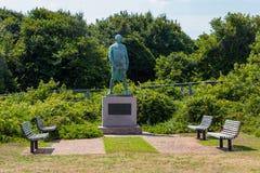 Denkmal für Admiral Francois Joseph Paul de Grasse Stockbild