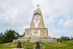 Denkmal für Alexander das zweite in Shipka, Bulgarien lizenzfreies stockfoto