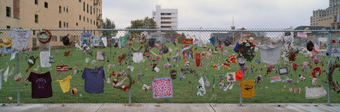 Denkmal für Oklahoma- Citybombardierung 1995 Stockfoto
