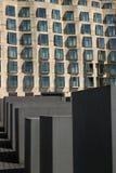 Denkmal f?r die ermordeten Juden von Europa berlin lizenzfreies stockbild
