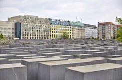Denkmal futerka kostka do gry Juden ermordeten Europa pomnika Mordujący żyd Europa Obrazy Royalty Free