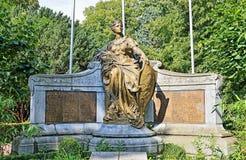 Denkmal 1914-1918 in Halle, Belgien Stockfoto