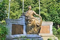Denkmal 1914-1918 in Halle, Belgien Lizenzfreie Stockbilder