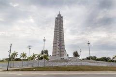 Denkmal José Martà im Revolutions-Quadrat, Havana stockfotos