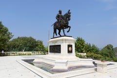 Denkmal Maharana Pratap, Udaipur, Rajasthan Lizenzfreie Stockfotos