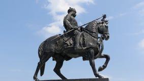 Denkmal Maharana Pratap, Udaipur, Rajasthan Lizenzfreies Stockbild