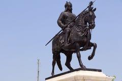 Denkmal Maharana Pratap, Udaipur, Rajasthan Stockfotografie