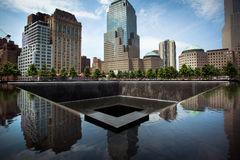 9/11 Denkmal in Manhattan, New York City Lizenzfreies Stockfoto