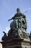Denkmal Maria-Theresa stockbild