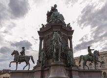 Denkmal Maria-Theresa stockbilder