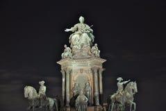 Denkmal Maria-Theresia, Wien Lizenzfreies Stockfoto