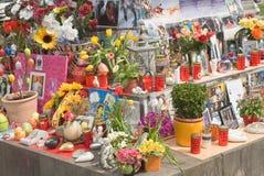 Denkmal Michael-Jackson Lizenzfreies Stockfoto