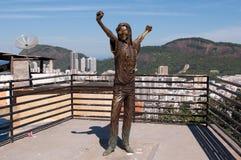Denkmal Michael-Jackson Stockfoto