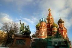 Denkmal Minin und Pojarsky - 3 Stockfotografie