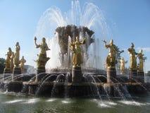 Denkmal in Moskau stockbild