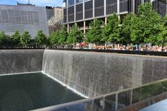 9/11 Denkmal, New York Lizenzfreies Stockfoto