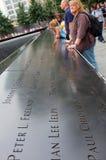 9/11 Denkmal, New York City Stockbild