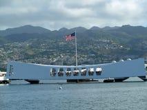 Denkmal Pearl Harbor USSs Arizona Lizenzfreies Stockbild