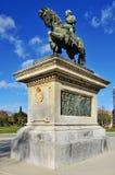 Denkmal Prim in Parc de la Ciutadella Stockfoto
