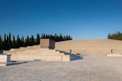 Denkmal Redipuglia, des Ersten Weltkrieges und Kirchhof Stockfoto