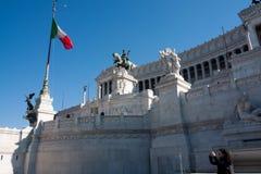 Denkmal in Rom Lizenzfreies Stockfoto