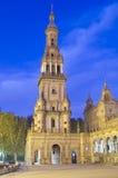 Denkmal in Sevilla Lizenzfreies Stockbild