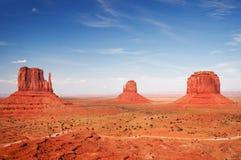 Denkmal-Tal, Arizona - Forrest Gump Hügel Lizenzfreie Stockfotos