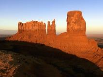 Denkmal-Tal-MESA-Landschaft. stockbilder